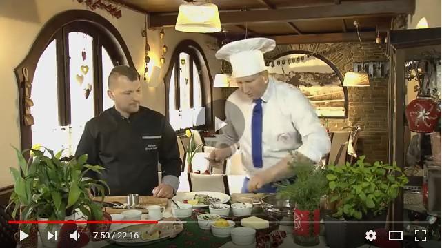 Rączka gotuje w Gościńcu Salmopolskim w Szczyrku